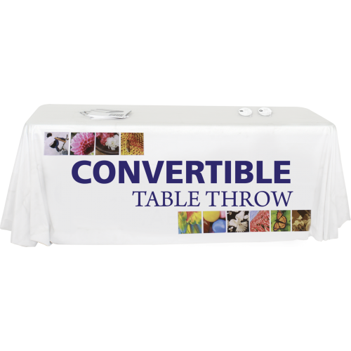 Convertible Premium Dye Sub Table Throw