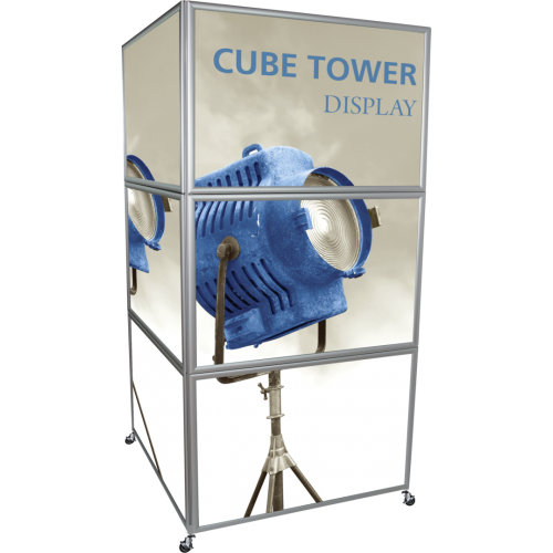 Cube Tower Display