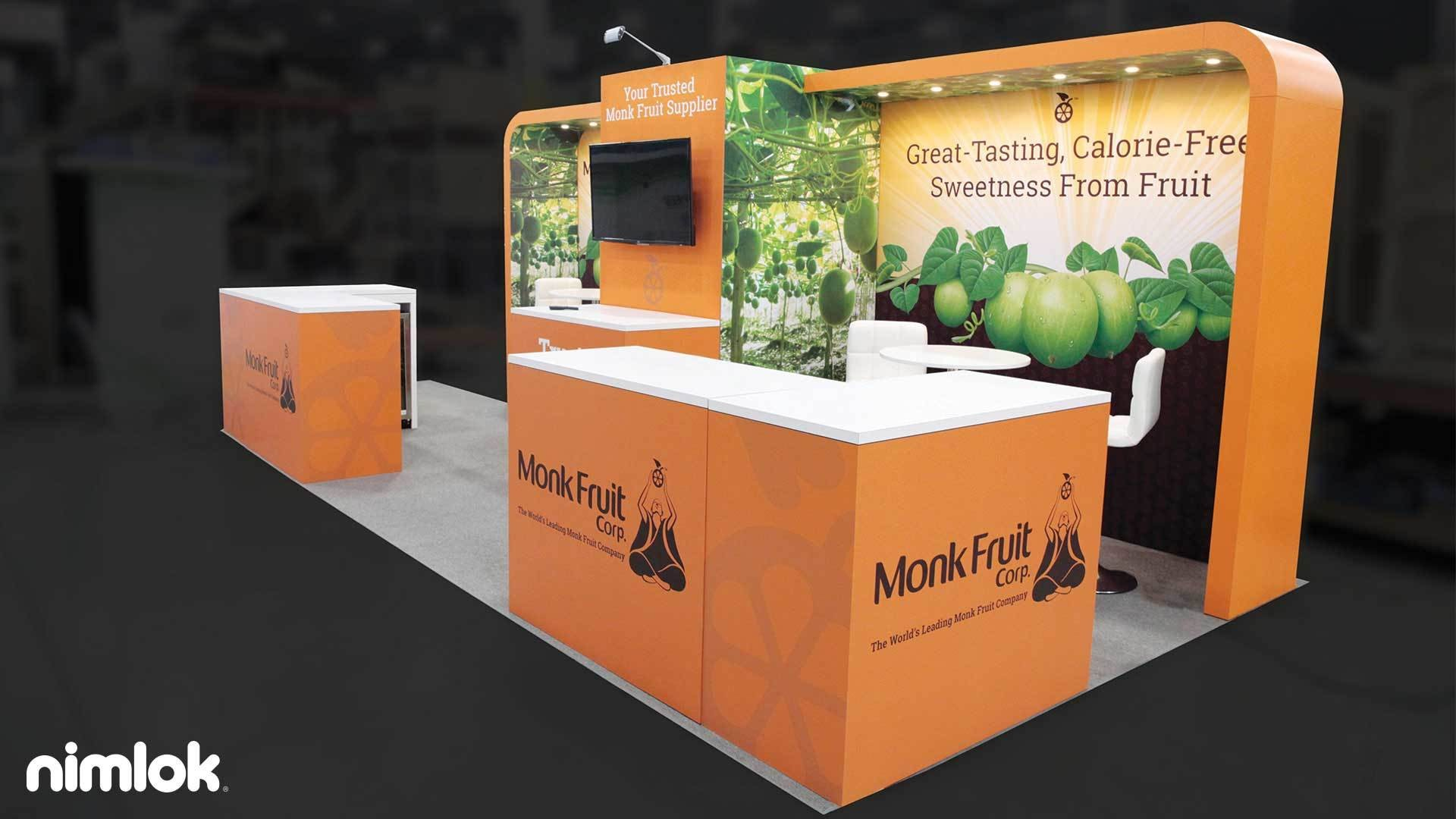 Monk Fruit Corp 20x20 Island